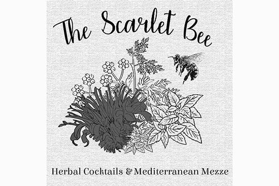 The Scarlet Bee logo
