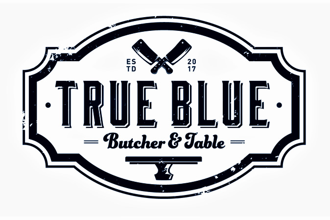 True Blue Butcher & Table | Brunch logo