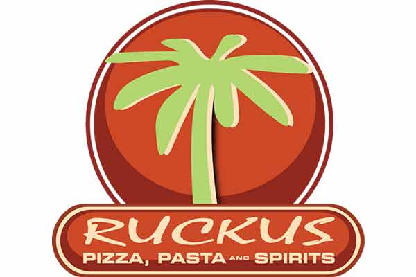 Ruckus Pizza | Apex logo